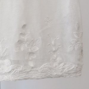 Bonpoint Dresses - Bonpoint Embroidered Mesh Baby Dress